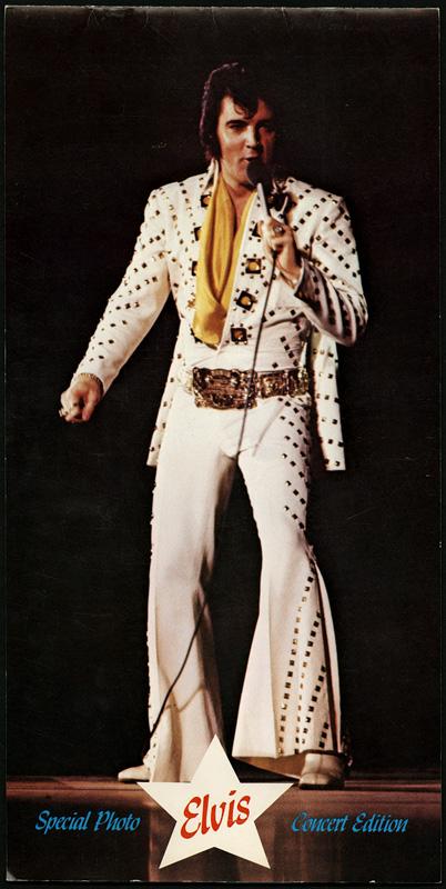 Elvis Presley  quot Special Photo Concert Edition quot  Las Vegas ProgramElvis Presley 1970 Concert Pictures