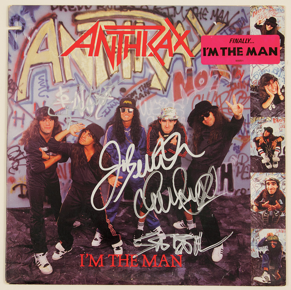 anthrax im the man single Lyrics to 'i'm the man' by anthrax i'm the man / not not / yeah / not / now we're anthrax and we take no shit / and we don't care for writing hits / the.
