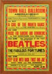 The Beatles 1963 Abergavenny Town Hall Ballroom Original Poster