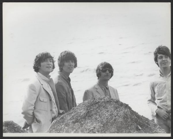 Beatles Original Gloria Stavers Photograph