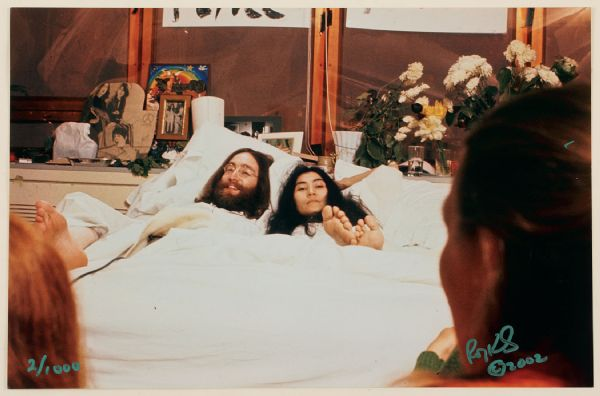 John Lennon & Yoko Ono Bed-In Limited Edition Original Print