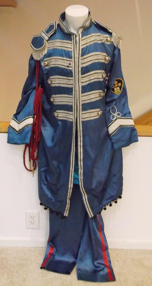 Lot Detail Beatles Paul Mccartney Replica Sgt Pepper Suit