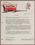 Elvis Presley Signed 1968 Comeback Special Merchandising & Promotion Agreement Also Signed by Colonel Parker