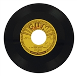 "Elvis Presley Signed Sun Records 45 ""I Dont Care If The Sun Dont Shine"""