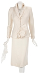 "Madonna ""Evita"" Film Worn White Two-Piece Wedding Skirt Suit and Lingerie"