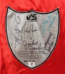 "Jackson 5 Tito, Jermaine, Jackie and Marlon Signed Limited Edition ""Beat It"" Jacket"