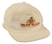 Michael Jackson Owned and Worn Trump Plaza Hat