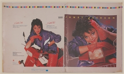 Janet Jackson Rare First Album Cover and Photo Printer's Proofs