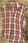 "Bruce Springsteen ""Born in the U.S.A."" Stage Worn Flannel Shirt"