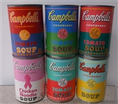 Andy Warhol Limited Edition Campbells Soup Cans