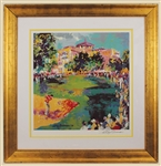 "LeRoy Neiman Signed ""Westchester Classic (The Winning Shot)"" Original Colorchrome Lithograph"
