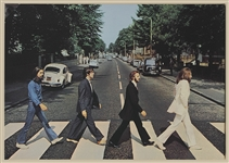 "The Beatles  ""Abbey Road"" Album Cover Canvas Picture"