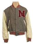 Michael Jackson Owned & Worn Letterman Jacket