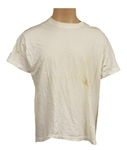 Michael Jackson Stage Worn White T-Shirt