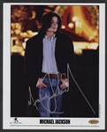 Michael Jackson Signed Original Publicity Photograph