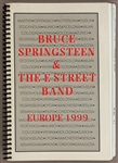 "Bruce Springsteen & The E Street Band ""Europe 1999"" Original Concert Tour Itinerary Used by Danny Federici"