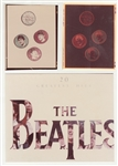 "Beatles ""20 Greatest Hits"" Original C.D. Production Used Artwork"