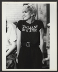 Madonna Original Vinnie Zuffante Wire Stamped Photograph