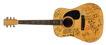 Guitar Signed & Played by Over 40 Rock & Roll Greats