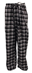 Elvis Presley Owned & Worn Black and White Pajama Bottom Lounge Pants