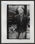 "Madonna ""Whos That Girl"" Original Vinnie Zuffante Stamped Wire Photograph"