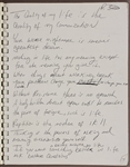 "Michael Jackson Handwritten 15 Page ""Self-Help"" Personal Journal"