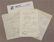 Walt Disney Animator Carl Banks Original Drawings and Cartoons
