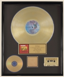 "The Doors ""L.A. Woman"" Original RIAA Gold Album, C.D. and Cassette Award Presented to the Doors"