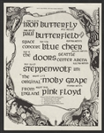The Doors/Pink Floyd Original Concert Handbill