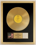 "Sly & The Family Stone ""Theres A Riot Goin On"" Original RIAA Gold Record Album Award Presented to Sly Stone"