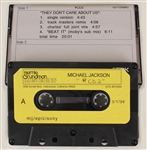 "Michael Jackson Personally Owned ""They Dont Care About Us"" Original Unreleased Recording"