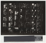 B.B. King Original Chuck Boyd Stamped Contact Sheet and Negatives