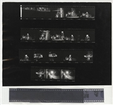 The Doors Original Chuck Boyd Stamped Contact Sheet and Negatives With Copyright