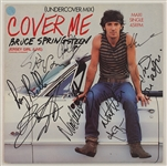 "Bruce Springsteen & The E Street Band Signed ""Cover Me"" 12"" Maxi Single"