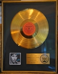 "Bruce Springsteen ""The River"" Original RIAA Gold Album Award Presented to Clarence (Big Man) Clemons"