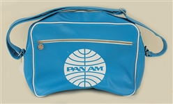 """Catch Me If You Can"" Film Production Used Pan Am Airlines Travel Bag Prop"