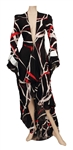 Alicia Keys Radio City Music Hall Stage Worn Long Black, Red and White Duster