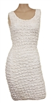 Christina Aguilera Worn White Sleeveless Dress