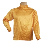 "Elvis Presley Worn ""Live A Little Love A Little"" Custom Made Gold Pullover Shirt With French Cuffs"