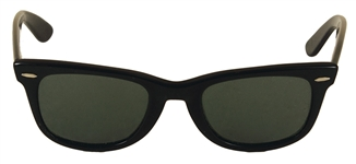 "Madonna ""Lucky Star"" Owned & Worn Black Rayban Wayfarer Sunglasses Circa Mid-1980s,"