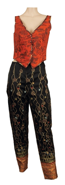 Madonna Owned & Worn Jean-Paul Gaultier Vest and Pants