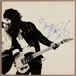 "Bruce Springsteen Signed & Inscribed ""Born To Run"" Album"
