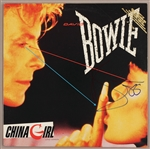 "David Bowie Signed ""China Girl"" Promotional 12"" Record"