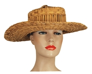 Liza Minnelli Owned & Worn Straw Hat