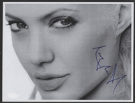 Angelina Jolie Signed Photograph