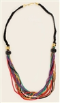 Liza Minelli Owned and Worn Colorful  Beaded Necklace