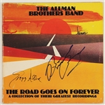 "Allman Brothers Band Signed ""The Road Goes on Forever"" Album"