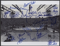 1969 Woodstock Festival 11 x 14 Photograph Signed by 17 Performers