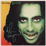 "Alice Cooper Signed ""Alice Cooper Goes To Hell"" Album"