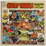"Big Brother and the Holding Company Sam Andrew Signed ""Cheap Thrills"" Album"